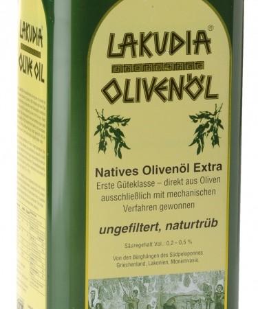 grünes Öl Olivenölkanister