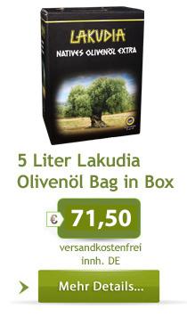 5 Liter Lakudia Olivenöl im Webshop bestellen