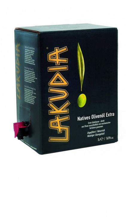 5l extra natives Olivenöl Bag-in-Box im Karton