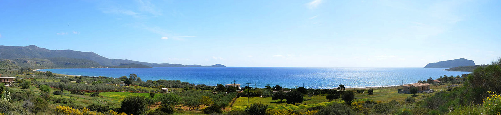 Lakonien im Süden der Halbinsel Peloponnes